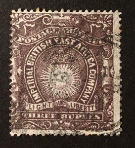 British East Africa Sc. #28 used, CV $60