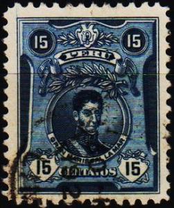 Peru. 1924 15c S.G.435 Fine Used