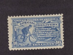 E9 VF+ OG mint lightly hinged with nice color cv $ 190 ! see pic !