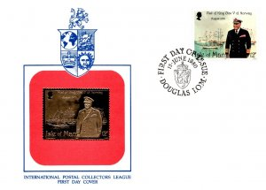 Isle of Man, Worldwide First Day Cover, Military Related