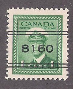 Canada: #249 w/ PRECANCEL 8160 (Calgary) Mint NH VF & scarce