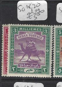 SUDAN  (P1901B)   CAMEL  SG 18, 20   MOG