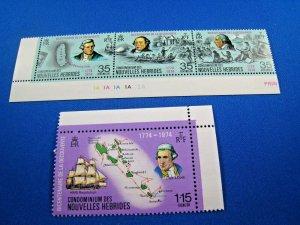 NEW HEBRIDES (Fr.)  -  SCOTT # 210a & 211   MNH   (wwn18)