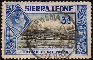SIERRA LEONE 1948 GVI 3d - SEGBWEMA cds....................................47351
