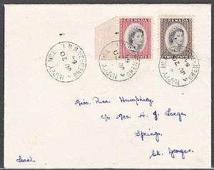 GRENADA 1964 local cover HAPPY HILL village cds............................54743