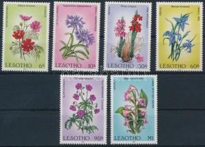 Lesotho stamp Flower set MNH 1985 Mi 540-545 WS196077