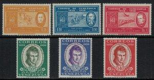 Venezuela #740-5*  CV $5.85
