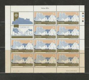 MALTA 1983 Europa sheetlets SG 712-3 Unmounted Mint