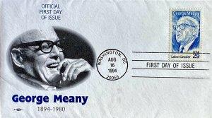 AFL-CIO 2848 George Meany Labor Leader