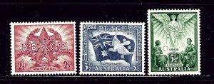 Australia 200-02 MH 1946 set