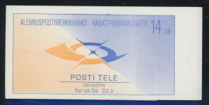 Finland 1988 Postal Service booklet Sc# 724a NH