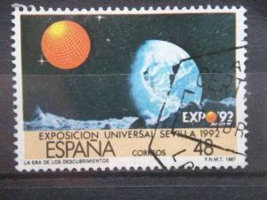 SPAIN, 1987  used 50p