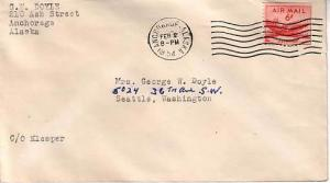 United States, Airmail, Airmail Issues, Alaska