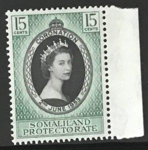 Singapore #27 MNH CV$2.50 QEII Coronation