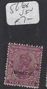 INDIA CHAMBA  (PP2410B)  KGV  2A   SG 68   VFU