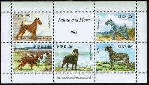 Ireland #567a Souvenir Sheet MNH - Animals Dogs (1983)