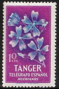 Spain Tanger Charity Stamps Huerfanos Telegrafo 10 Cents MNH