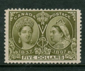 Canada #65 Extra Fine Mint - Expertly Regummed To Look Original Gum And NH