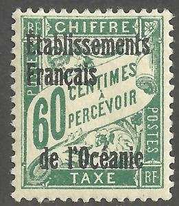 FRENCH POLYNESIA SCOTT J6