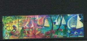 CK125) Cocos Keeling Islands 1999 Jukong Boats CTO/Used