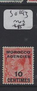 MOROCCO AGENCIES   (P1305B) KGV 10 C  SG 193      MOG