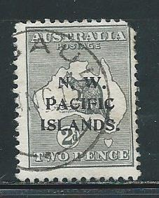 North West Pacific Islands 1 2d Roo single Used