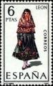 Spain 1969 Regional Costumes - León