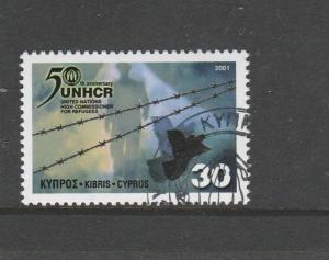 Cyprus 2001 United Nations VFU/CTO SG 1013