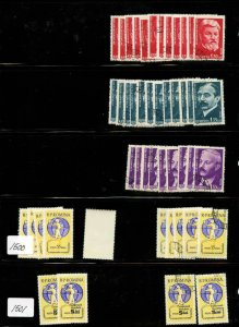 ROMANIA 1962 8 SCANS SOUND COLLECTION LOT SOME MINT NEVER HINGED $$$$$$$