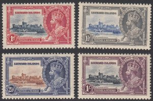 Leeward Islands 96-99 MH (see Details) CV $35.75