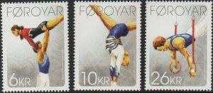 Faroe Islands 2009 #514-6 MNH. Gymnastics