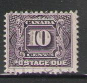 Canada Sc J5 1928 10c Postage Due stamp used