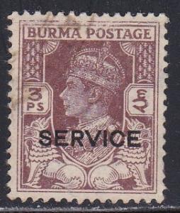 Burma # O28, Used