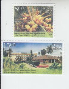 2018 India Coconut Research (2)  (Scott NA) MNH