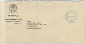 78991 - COLOMBIA - POSTAL HISTORY - COVER: Official mail from STAMP EXPO - 1959