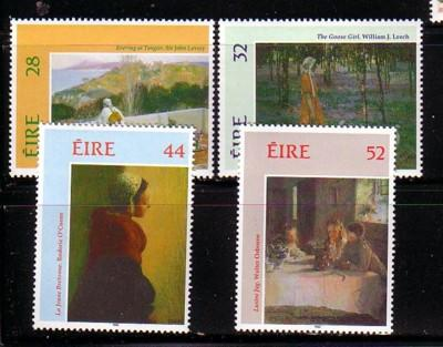 Ireland Sc 887-90 1993 Paintings stamp set mint NH