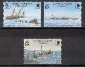 BRITISH ANTARCTIC 2000 Shackleton Expedition; Scott 285-87, SG 312-14; MNH