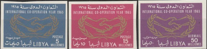 Libya #267-8, C51 MNH Imperf   CV $5.90  (A17839)