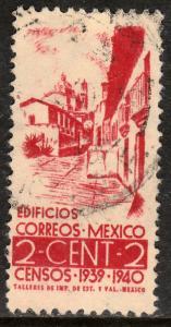 MEXICO 751, 2c Census, 1940. Used. VF. (993)