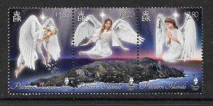 PITCAIRN ISLANDS 2019 CHRISTMAS (ANGELS) MNH