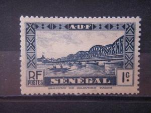 SENEGAL, 1935 MNH 1c, Scott 132