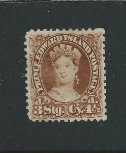 PRINCE EDWARD IS 1870 4½d YELLOW-BROWN MM SG 32 CAT £75