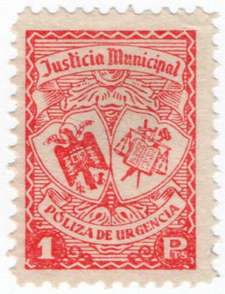 (I.B) Spain Revenue : Police Courts 1Pta