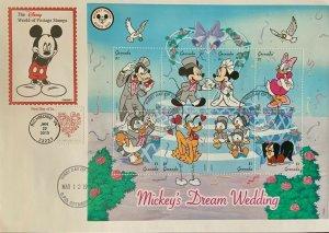 HNLP Hideaki Nakano 4956 Love Forever on Grenada Mickey's Dream Wedding Disney