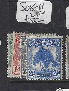 GILBERT & ELLICE IS (P0307B)  TREE  SG 8-11  VFU