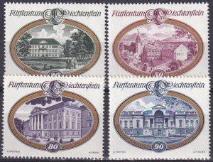 Liechtenstein #624-7 MNH (Z4434)
