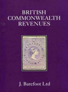 Commonwealth 10th Edition Barefoot Revenue Stamp Catalogue-Out of Print 500Pages