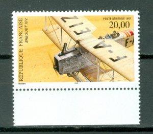FRANCE AIR  #C60... PERF. 13x13.25 MNH...$10.00