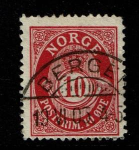 Norway SC# 51, Used - Lot 111316