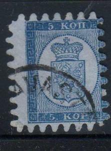 Finland Scott 4! Used Classic Stamp!!